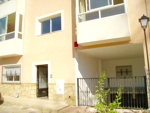 This apartment is for sale in the village of Turre