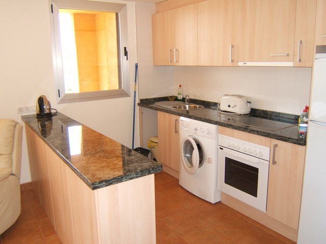 Fully fitted kitchen with white goods included