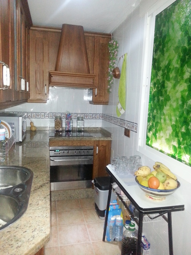Kitchen of the apartment in Garrucha