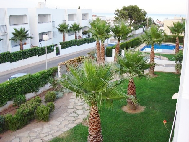 Apartment located on Mojacar playa