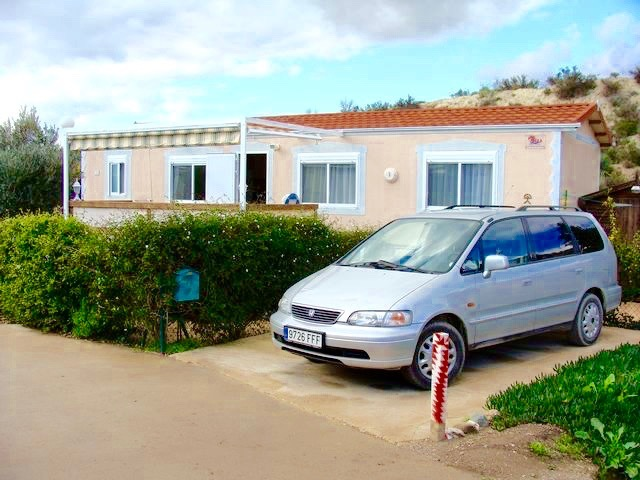 Park home located close to the beautiful beaches of San Juan de los Terreros