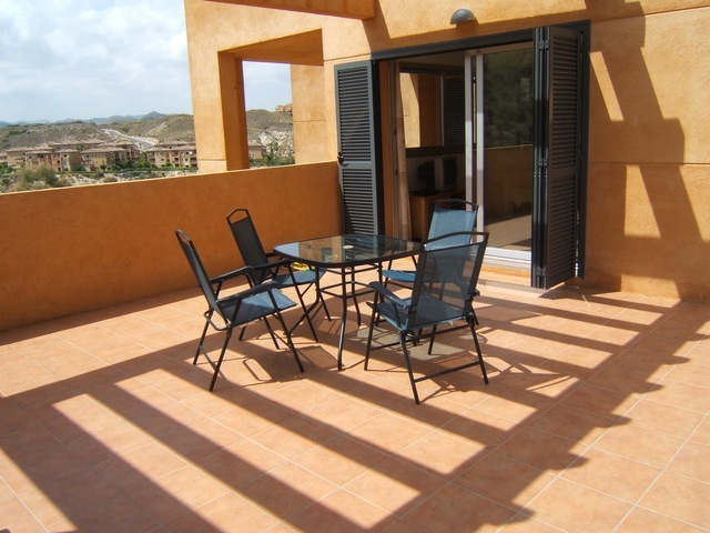 Large terrace area where you can enjoy the views