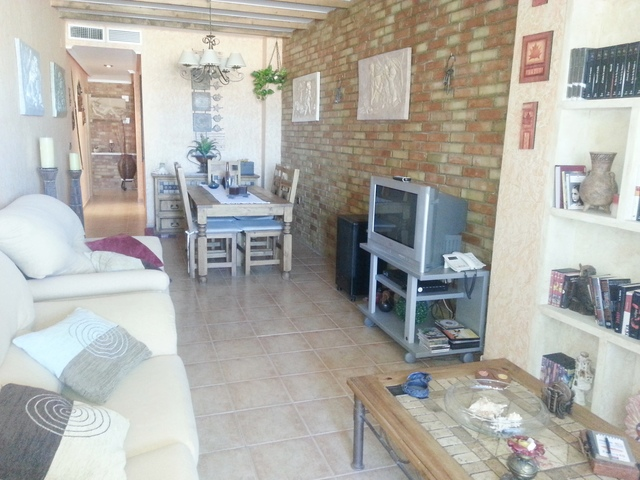 Lounge of the apartment in Garrucha