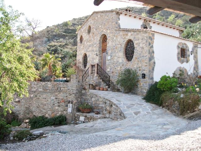 Cortijo views, Lubrin, Almeria, Spain