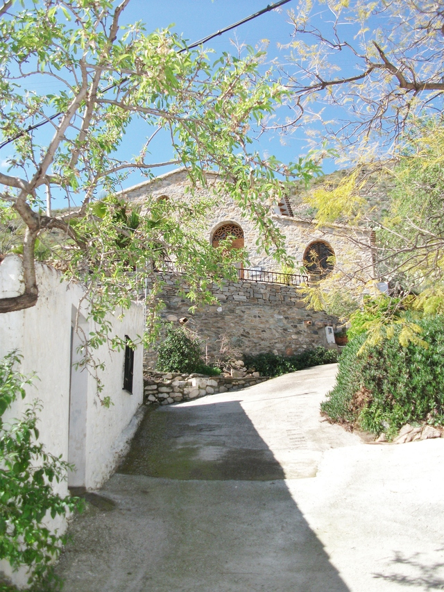 Cortijo access, Lubrin, Almeria, Spain