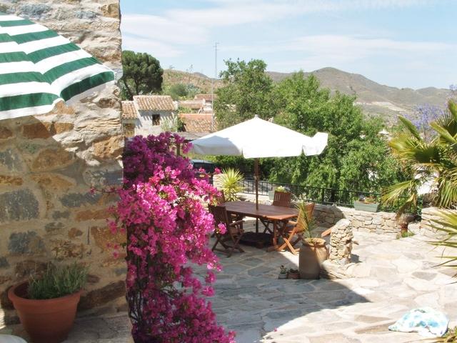 Cortijo lounge, Lubrin, Almeria, Spain