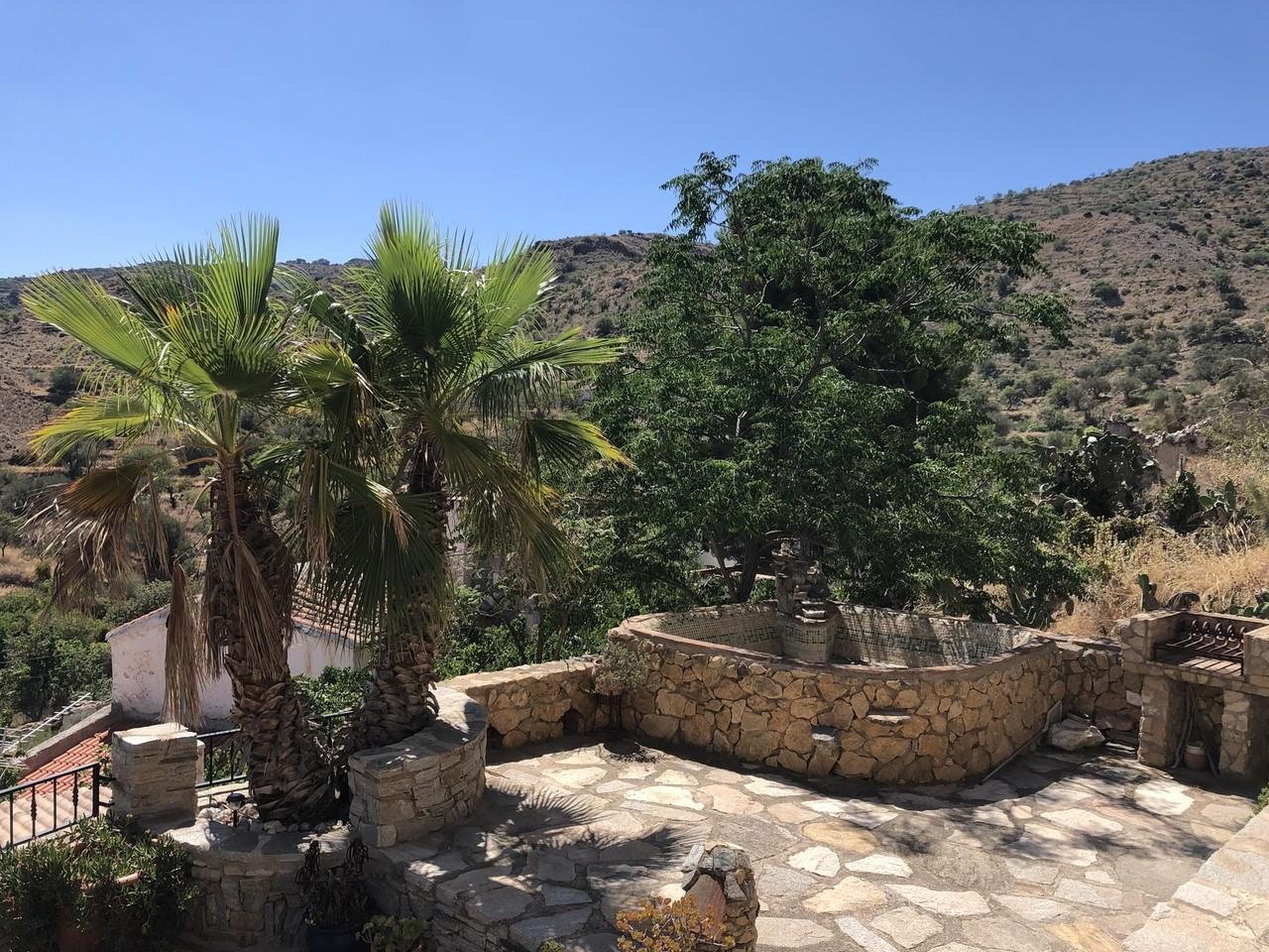 View of the cortijo, Lubrin, Almeria, Spain