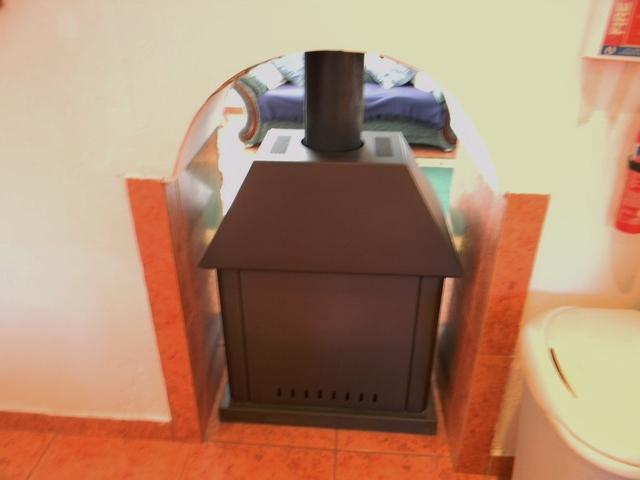 Cortijo free standing burner, Taberno, Almeria, Spain