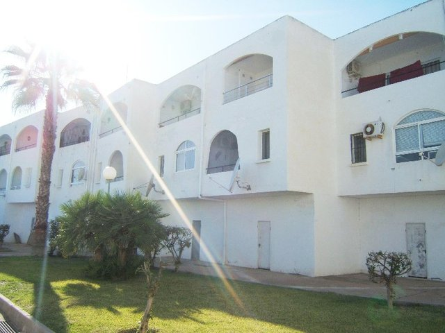 View of the apartment in Mojacar playa