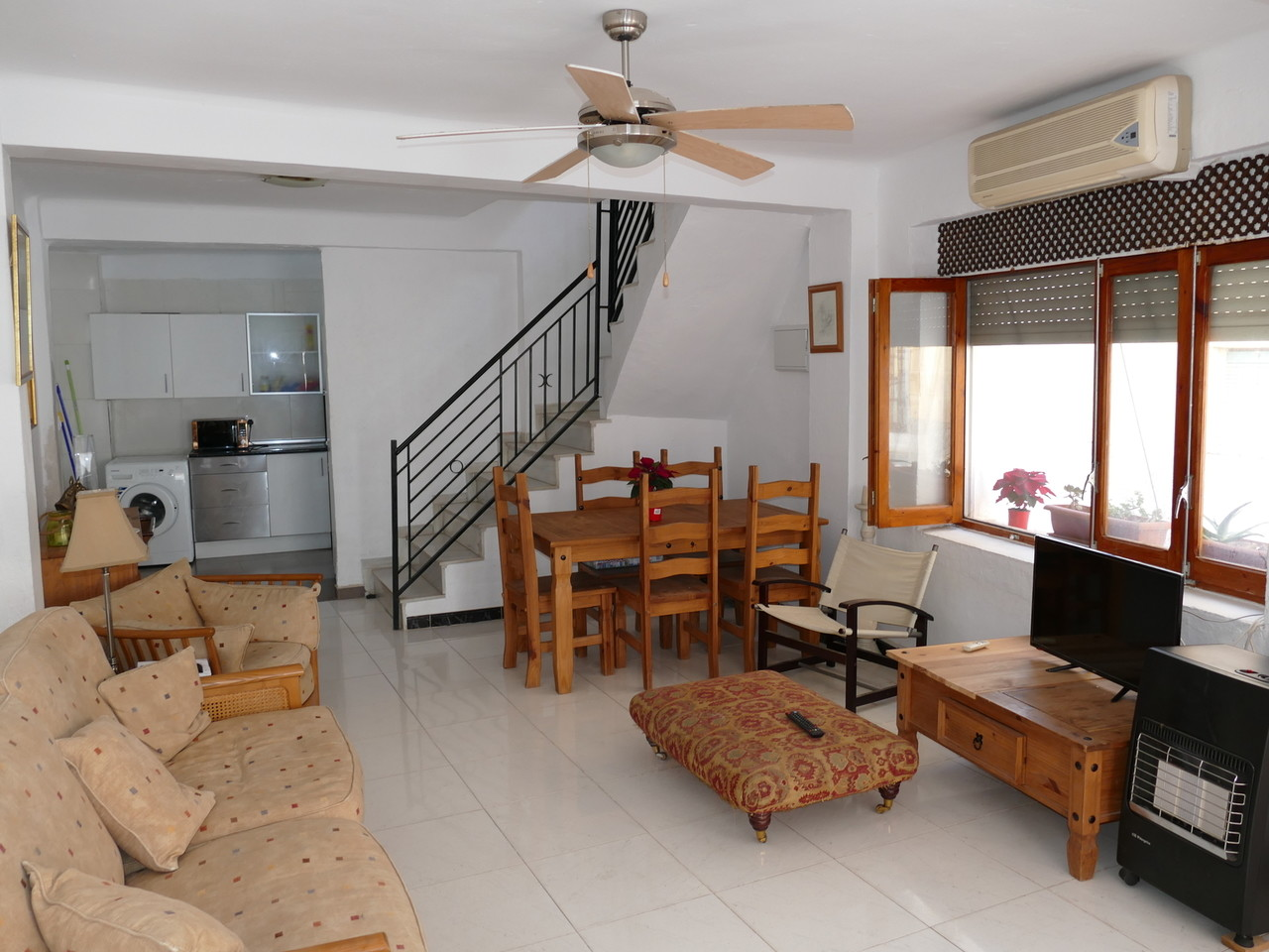 Upstairs area of the townhouse
