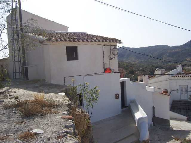 Wonderful village views from this cortijo
