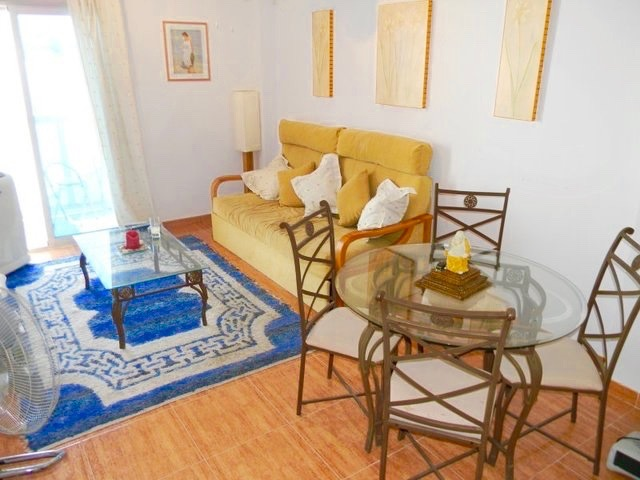 This is an apartment in the village of Cuevas del Almanzora